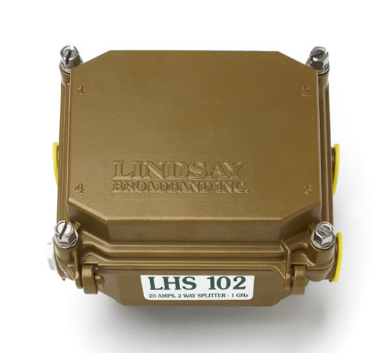 Remotely power any Lindsay Broadband amplifier