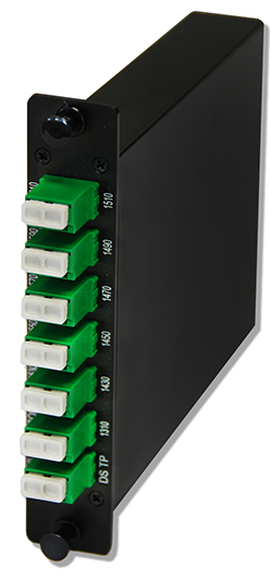 8 OR 10 CHANNEL CWDM MULTIPLEXERS AGX MODULE