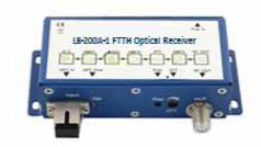 LB-200A Series  FTTH optical receiver is a  compact optical receiver, designed for FTTH  (Fiber To The Home) networks.